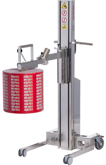 Battery-driven lifter Inox 90 – Light lifter in stainless steel