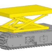 Movex Track-O Option Scherenhubtisch 225 kg 60,96 cm Lauf