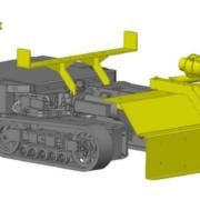 Movex Track-O Option Absaugschlauch Befestigung für Minidozer