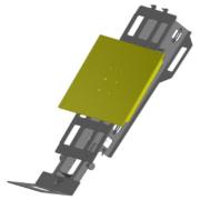 Movex Track-O Option Drehscheibe für Schrank Ladevorrichtung
