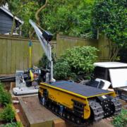 Movex modular All Terrain Track System Track-O Cross Country - Portable Jib Crane