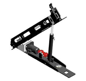 Track-O Greengo - Hydraulic Lifting System