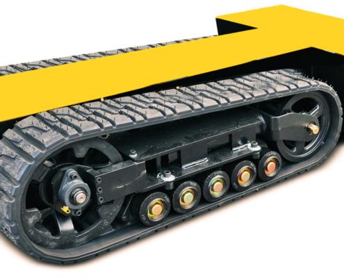 Movex modulares All Terrain Raupensystem Track-O Heavy Duty