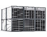 Long material storage - Honeycomb Rack Starr